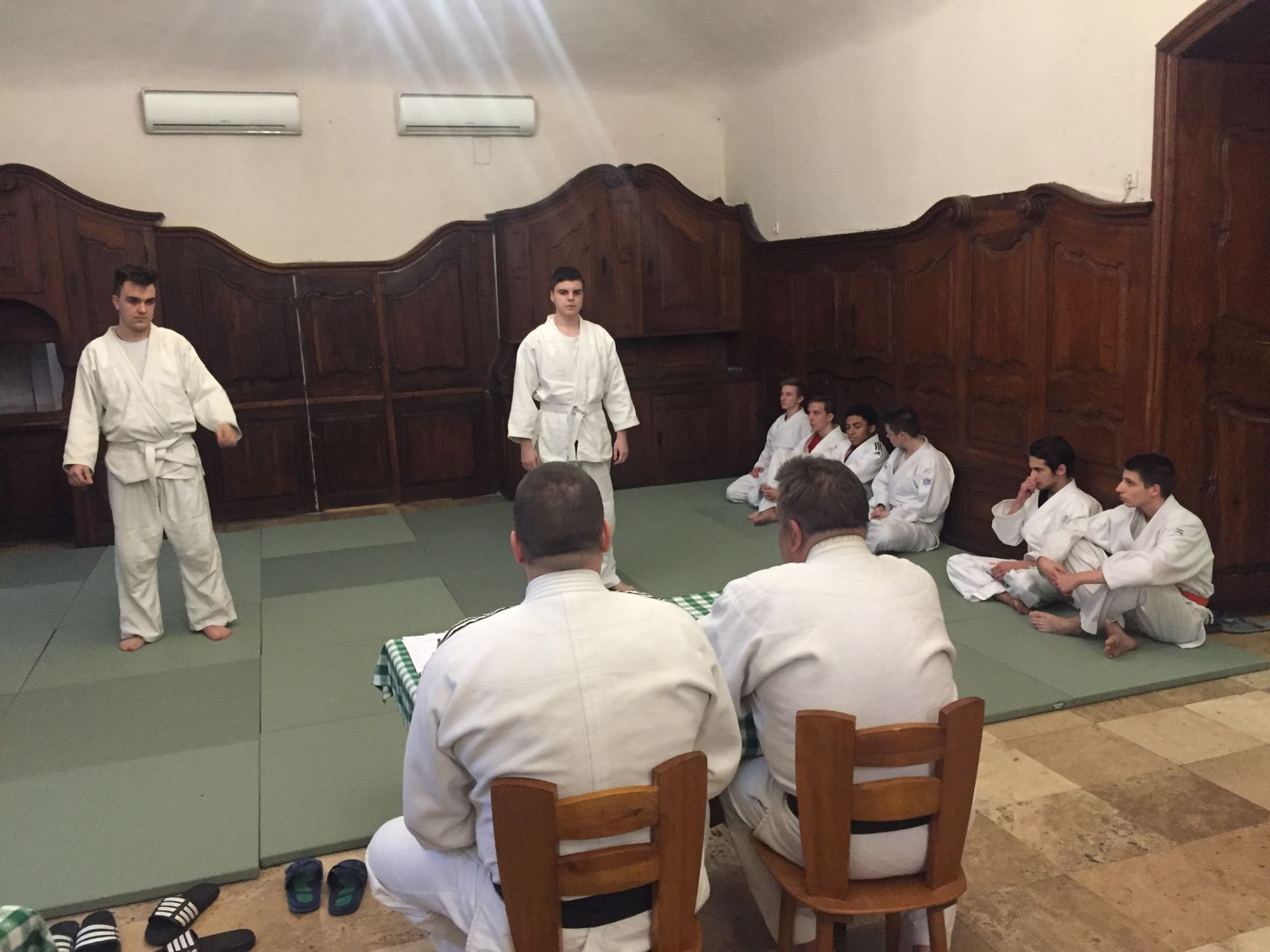 Judo vizsga 2